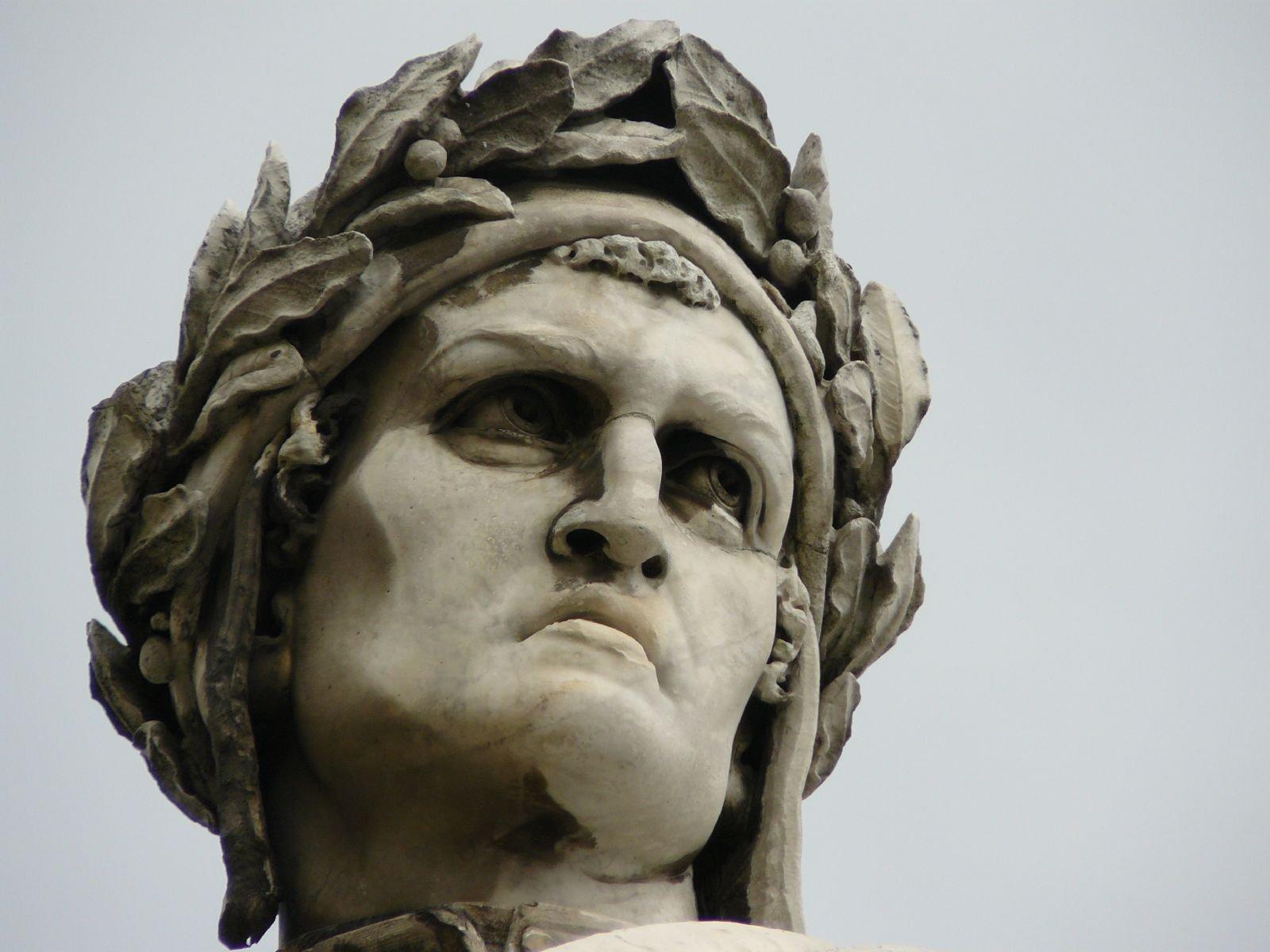 Un Dante corrucciato