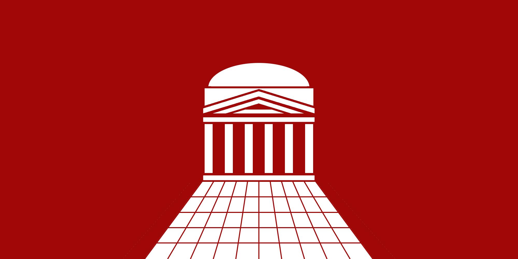 Bandiera del Revival Romano