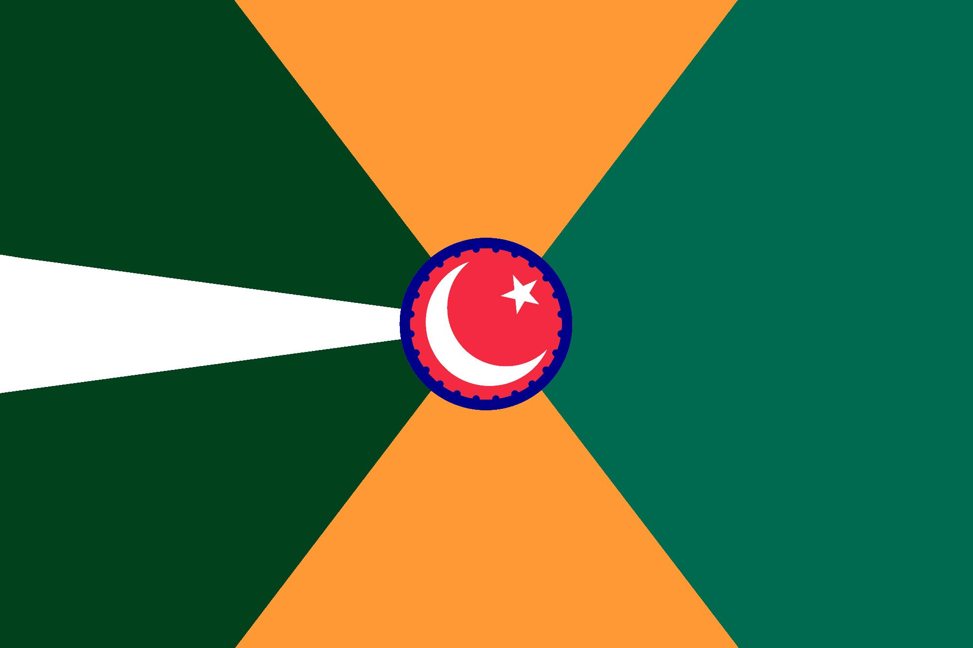 Bandiera di un'India unita