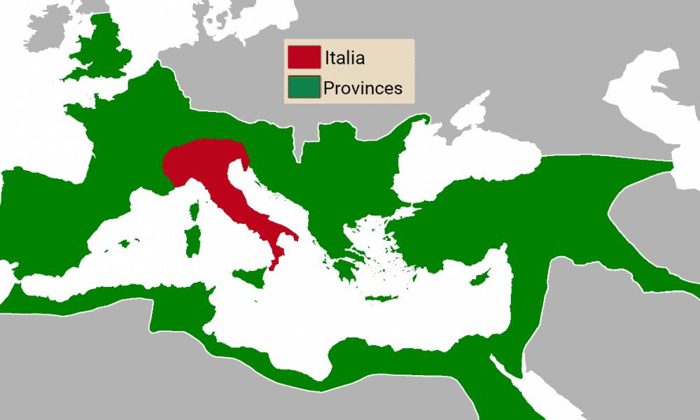 Provincia Italia nell'Impero Romano
