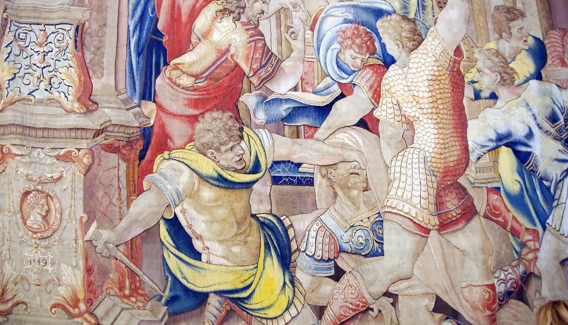 Bruto uccide Giulio Cesare